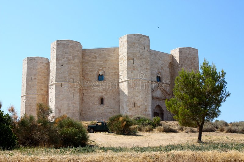 Castel del Monte, Italy stock images