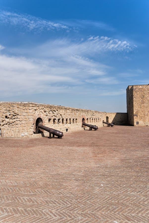 Castel dell'ovo royalty free stock photo