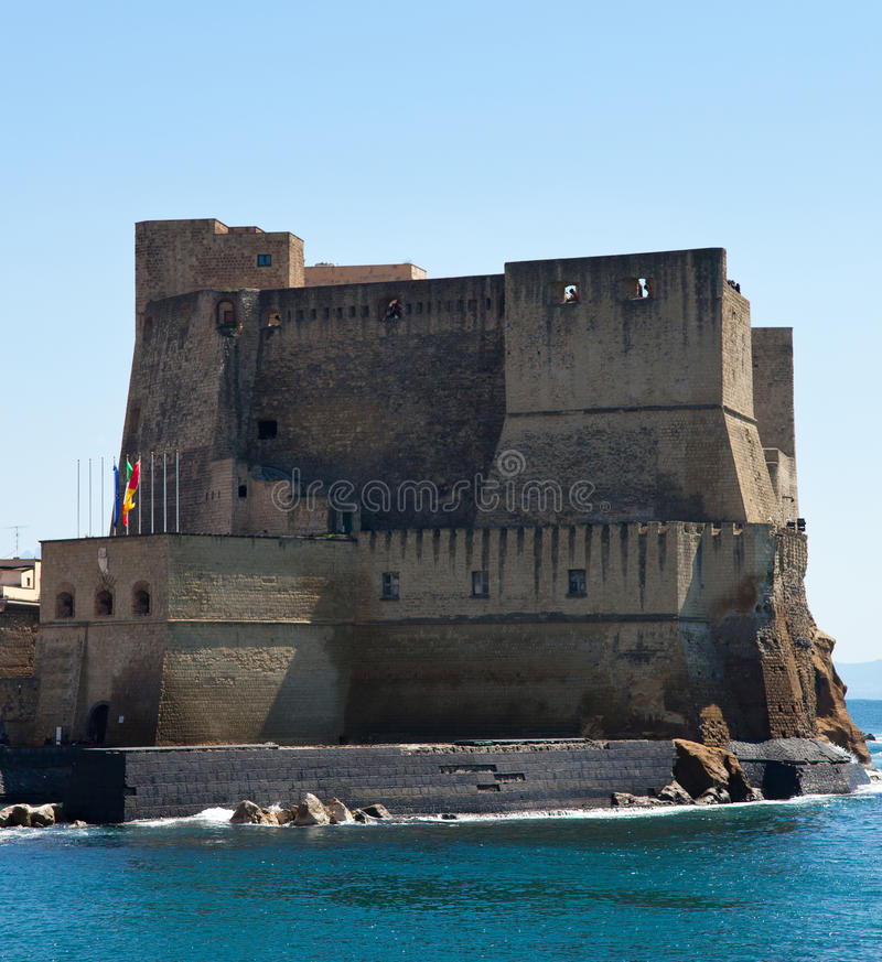 Download Castel Dell'Ovo, Naples, Italy Stock Image - Image of panorama, light: 39504989