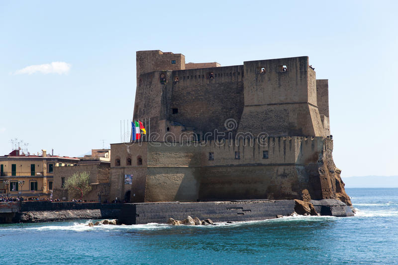 Download Castel Dell'Ovo, Naples, Italy Stock Image - Image of castle, landscape: 39505045