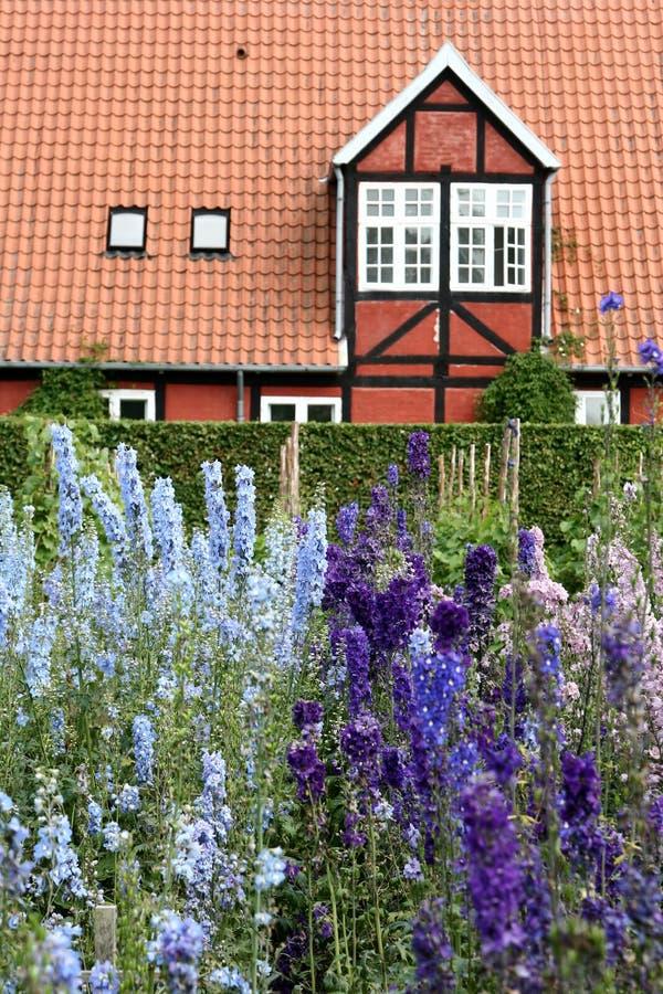 castel fredensborg βασίλισσα σπιτιών κήπω& στοκ φωτογραφία με δικαίωμα ελεύθερης χρήσης