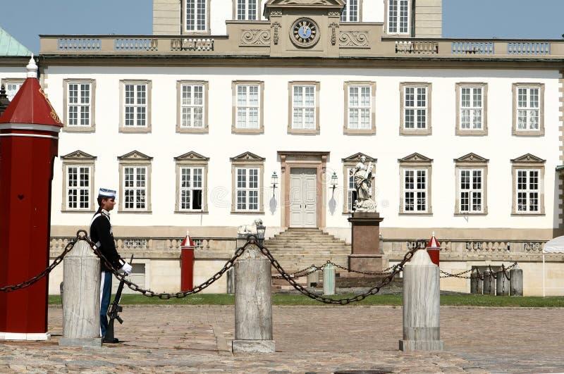 castel fredensborg φρουρά στοκ φωτογραφία με δικαίωμα ελεύθερης χρήσης
