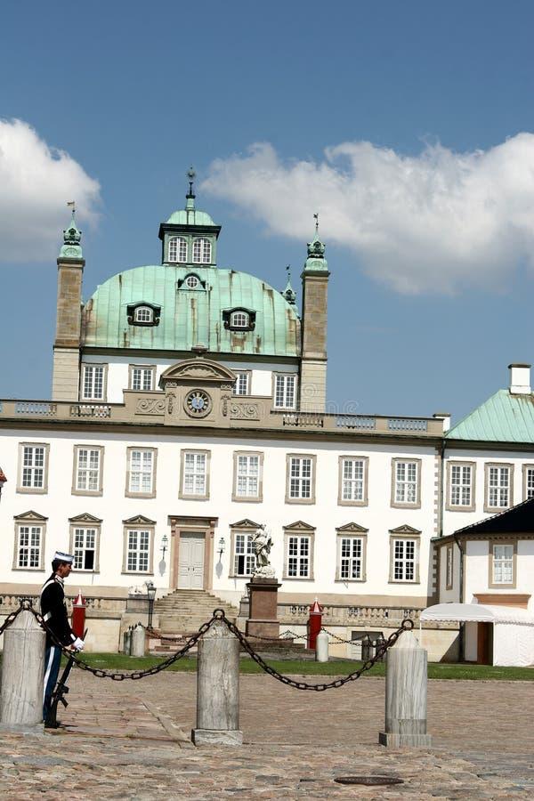 castel fredensborg φρουρά στοκ εικόνα