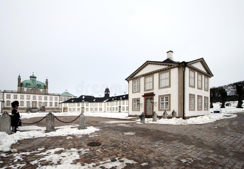 castel fredensborg στοκ φωτογραφία με δικαίωμα ελεύθερης χρήσης