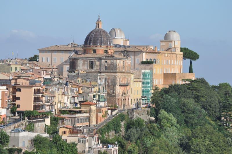 Castel Gandolfo imágenes de archivo libres de regalías