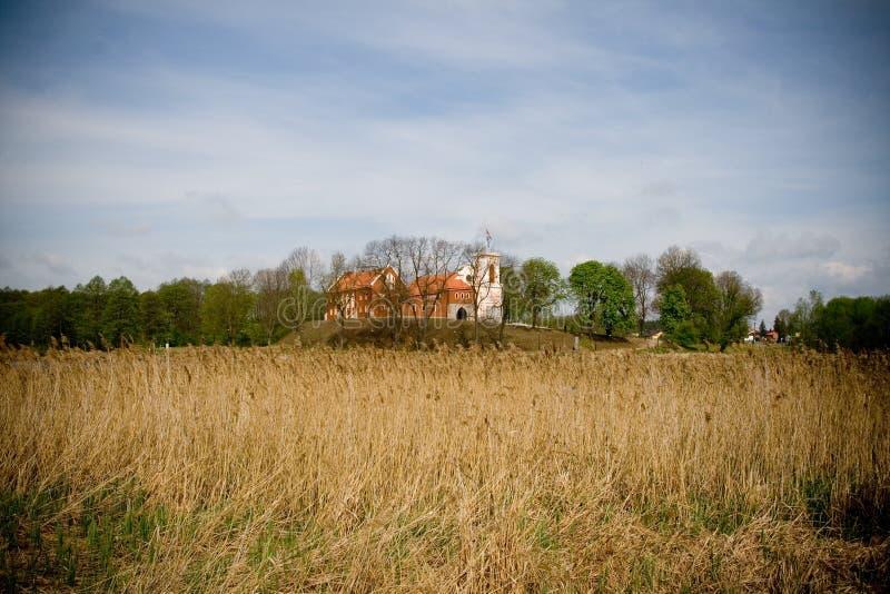 Castel in Gostynin (Polonia) immagini stock