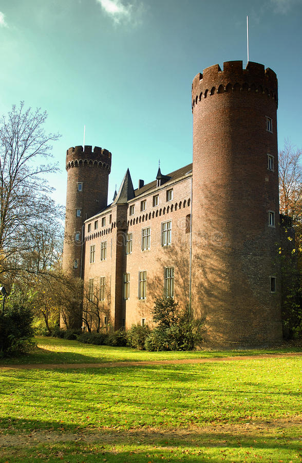 Castel of Kempen royalty free stock photography