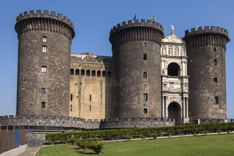 Castel Nuovo στη Νάπολη, Ιταλία στοκ εικόνα με δικαίωμα ελεύθερης χρήσης