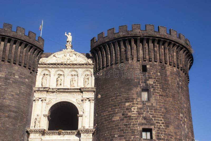 Castel Nuovo το νέο Castle, Νάπολη, Ιταλία στοκ φωτογραφίες με δικαίωμα ελεύθερης χρήσης