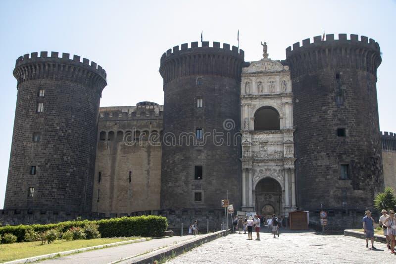 Castel Nuovo fotografía de archivo libre de regalías