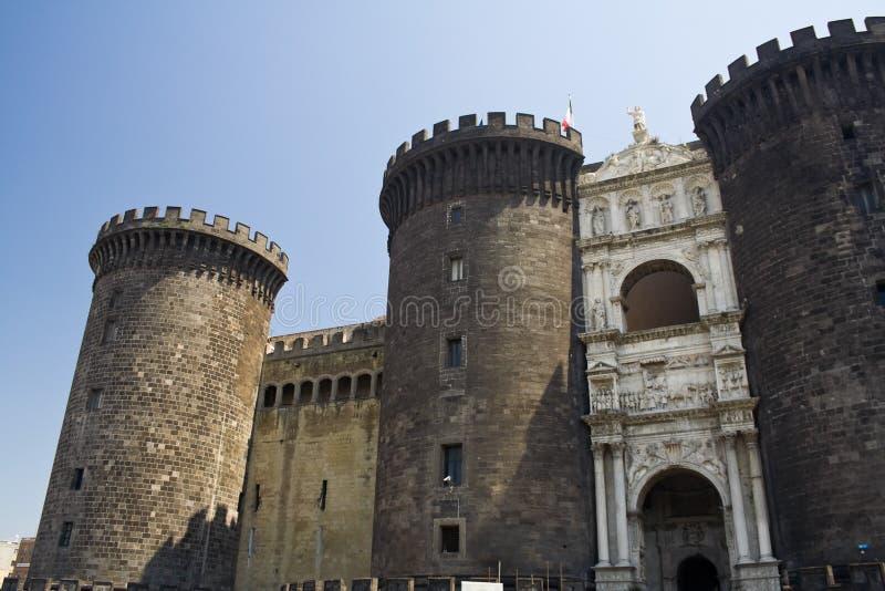 Castel Nuovo stock photo