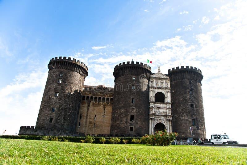 Castel Nuovo en Italie photos libres de droits