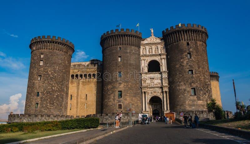 Castel Nuovo III fotografia stock libera da diritti