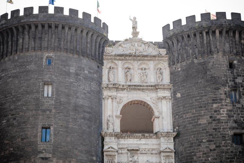 Castel Nuovo, Naples, Italy stock image