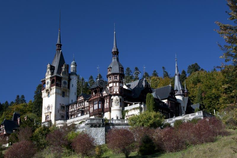Castel Peles foto de stock royalty free