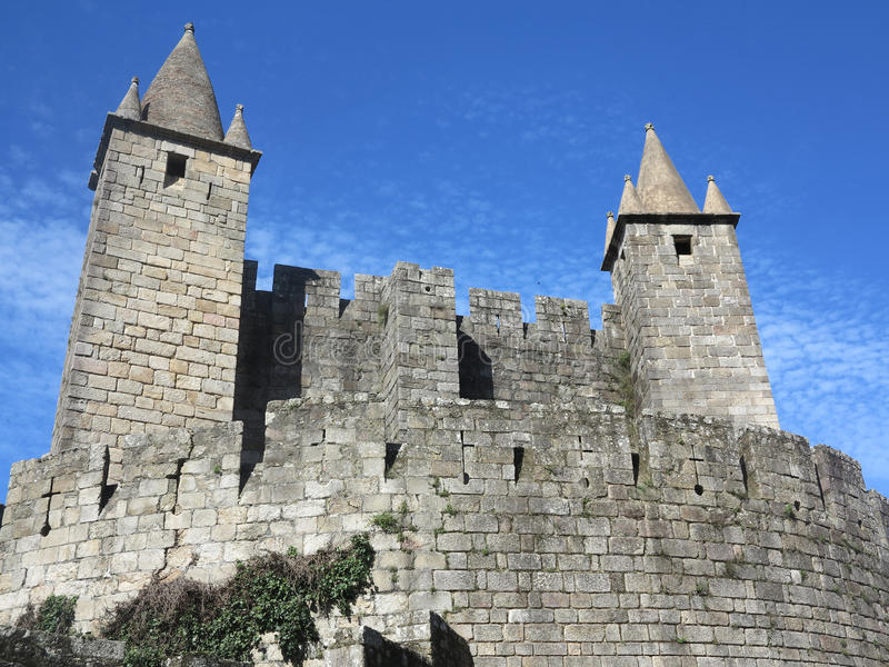 Castle, portugal royalty free stock photo