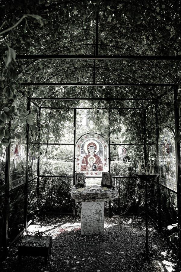 Castel Queen Mary, Balchik, Bułgaria zdjęcia royalty free