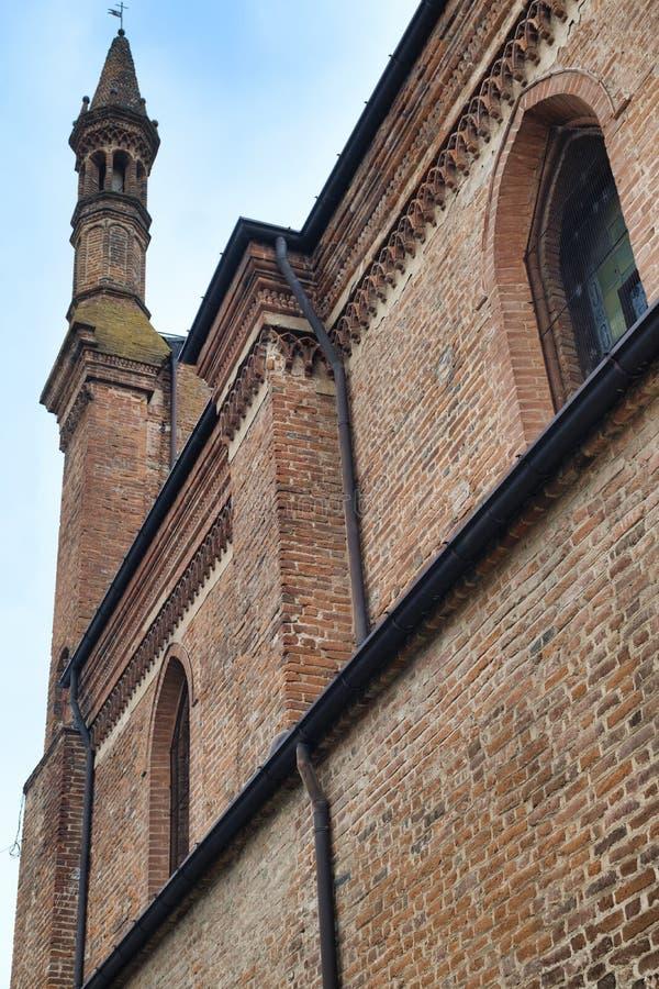 Castel San Giovanni Piacenza, Italia: San Giovanni Battista chu fotografía de archivo