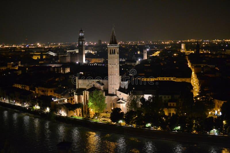 Castel San Pietro foto de stock royalty free
