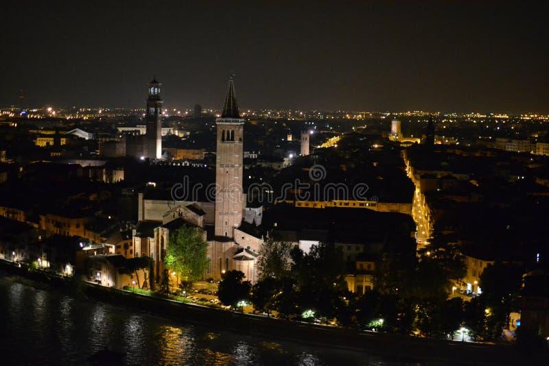 Castel San Pietro imagem de stock