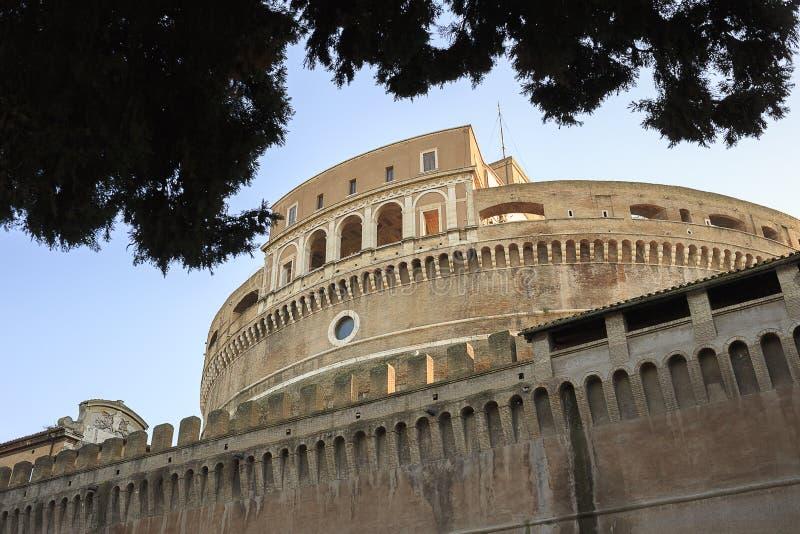 Castel Sant安吉洛 免版税图库摄影