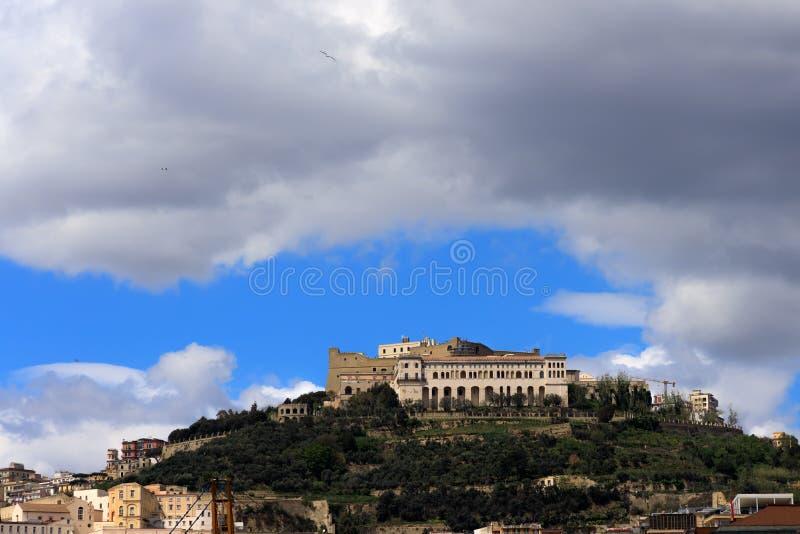 Castel Sant 'Elmo fotografía de archivo libre de regalías