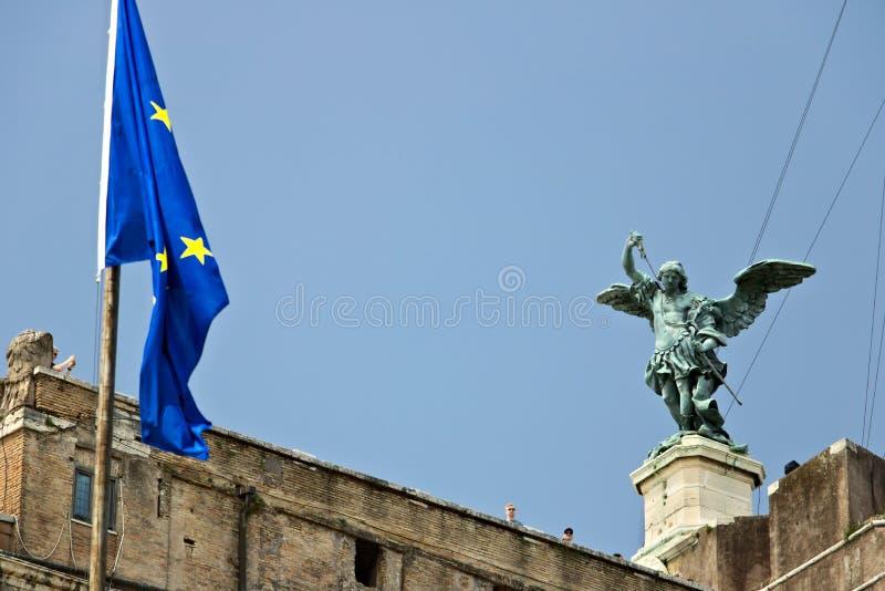 "Castel Sant ""Angelo ή μαυσωλείο του Αδριανού στη Ρώμη στοκ φωτογραφία με δικαίωμα ελεύθερης χρήσης"