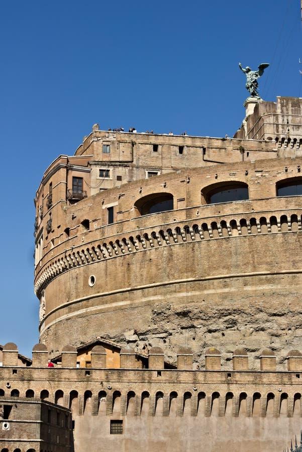 """Castel Sant """"Angelo или мавзолей Hadrian в Риме стоковая фотография rf"""
