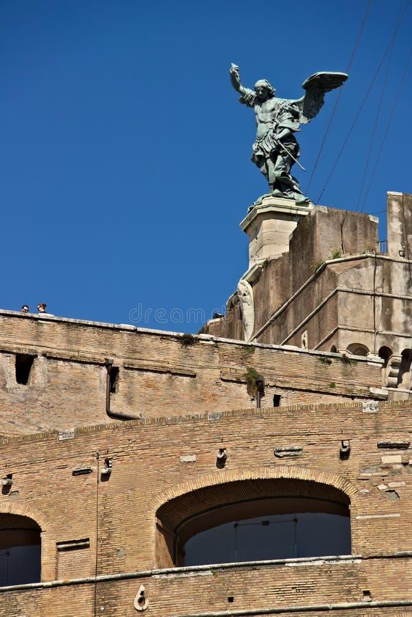 """Castel Sant """"Angelo или мавзолей Hadrian в Риме стоковые фото"""