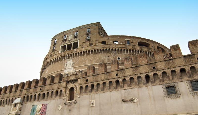 Castel Sant'angelo à Rome, Italie image libre de droits