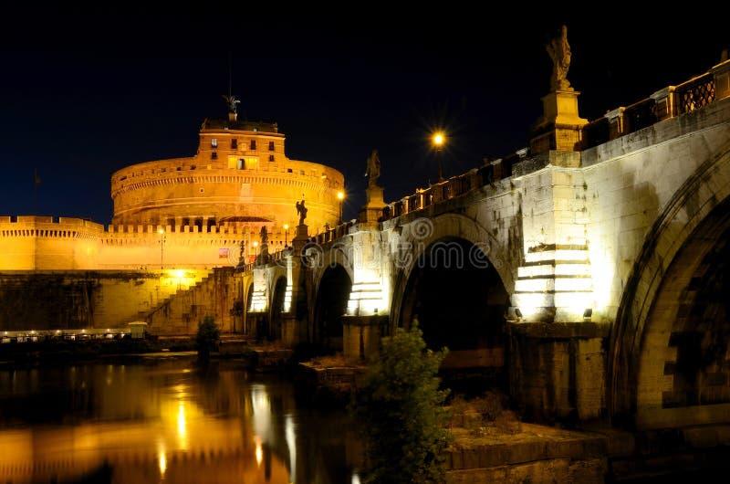 Castel Sant'Angelo, Рим стоковое фото rf