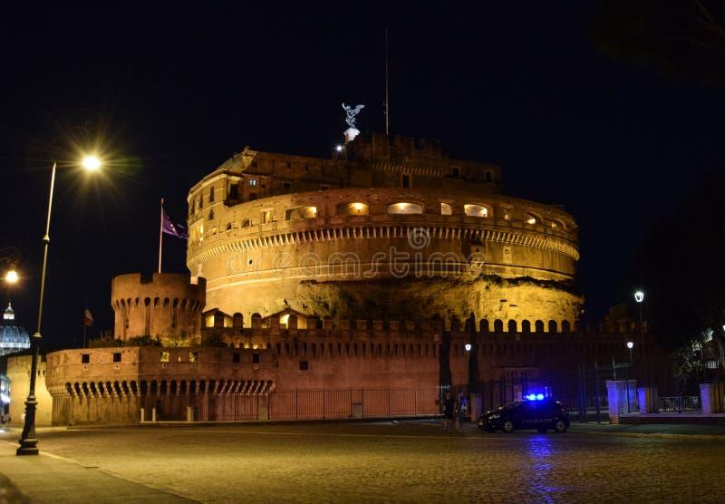Castel Sant Angelo royaltyfria bilder