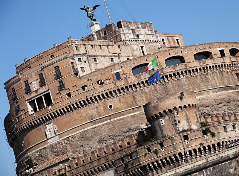 Castel sant 39 angelo immagine stock immagine di turismo for Europeo arredamenti mosciano sant angelo
