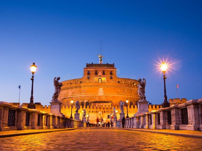 Castel Sant'Angelo fotos de archivo