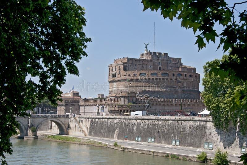 Castel Sant \ 'Angelo royaltyfri bild