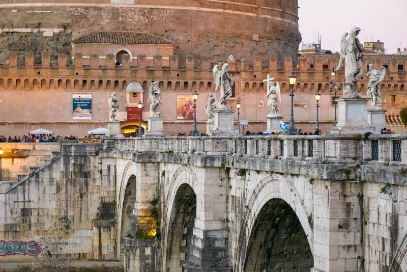 Castel Sant'Angelo stock foto