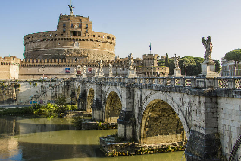 Castel Sant'Angelo01 стоковое фото