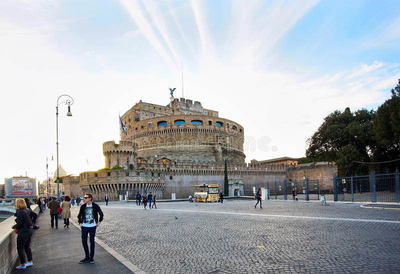Castel sant 39 angelo fotografia stock editoriale immagine for Europeo arredamenti mosciano sant angelo