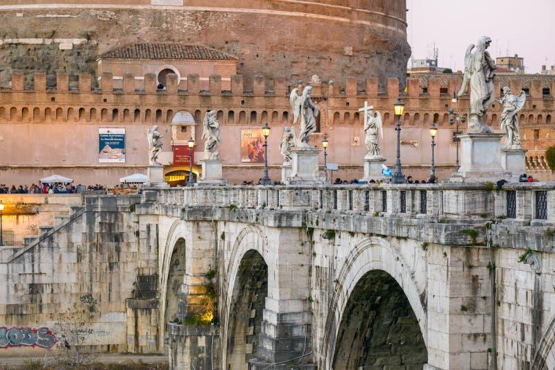 Castel Sant ` Angelo royalty-vrije stock foto