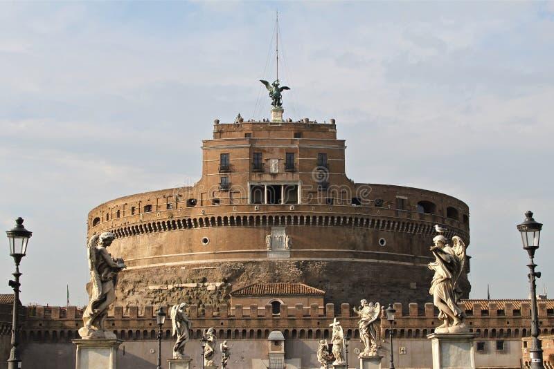 Castel Sant'Angelo en Roma imagen de archivo
