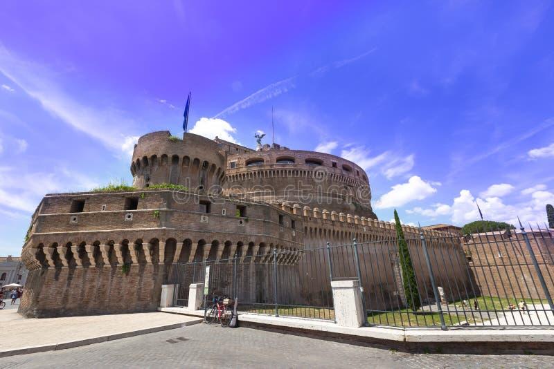 Castel Sant Angelo en Roma foto de archivo