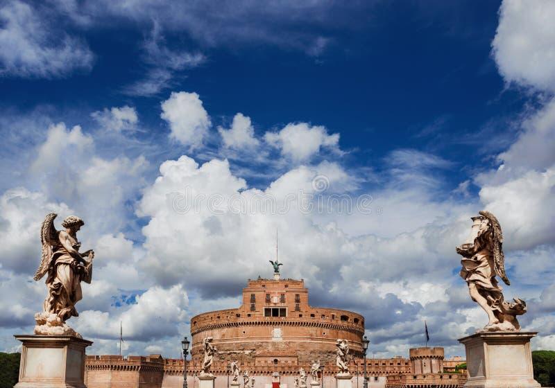 Castel Sant ` Angelo i Rome royaltyfri fotografi
