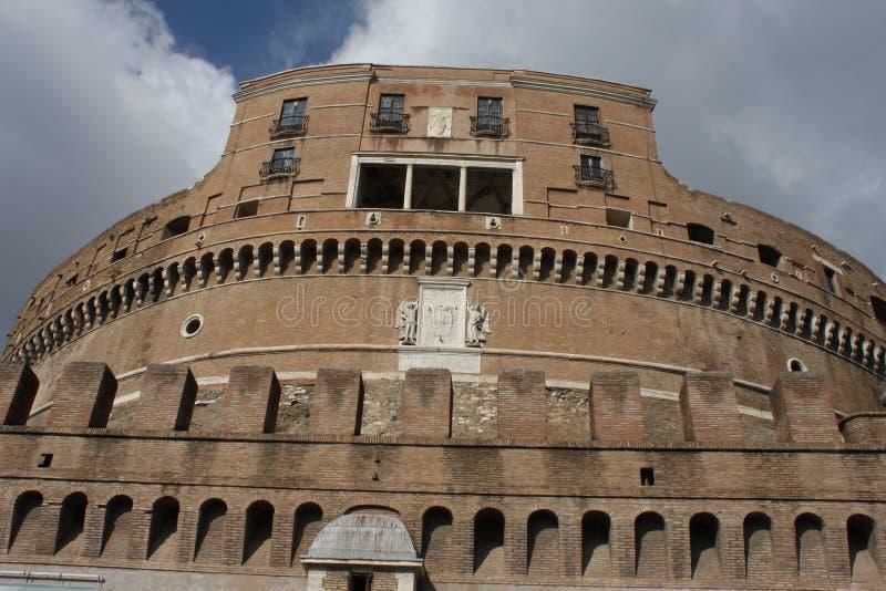 Castel Sant ` Angelo i Rome, Italien royaltyfri bild