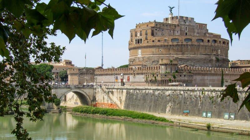 Castel Sant-` Angelo in Rom in Italien stockfotografie