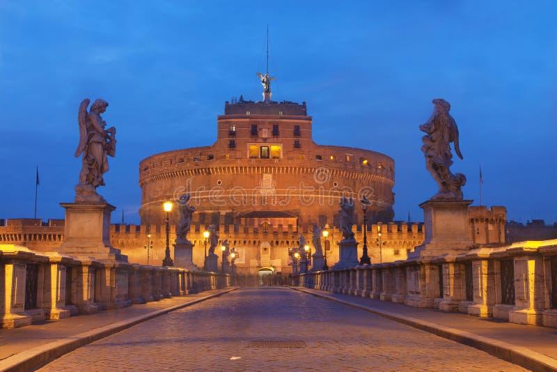 Castel Sant'Angelo, Roma imágenes de archivo libres de regalías