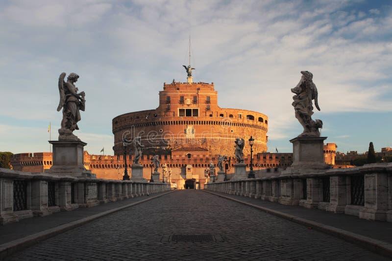 Castel Sant'angelo-Roma imagen de archivo