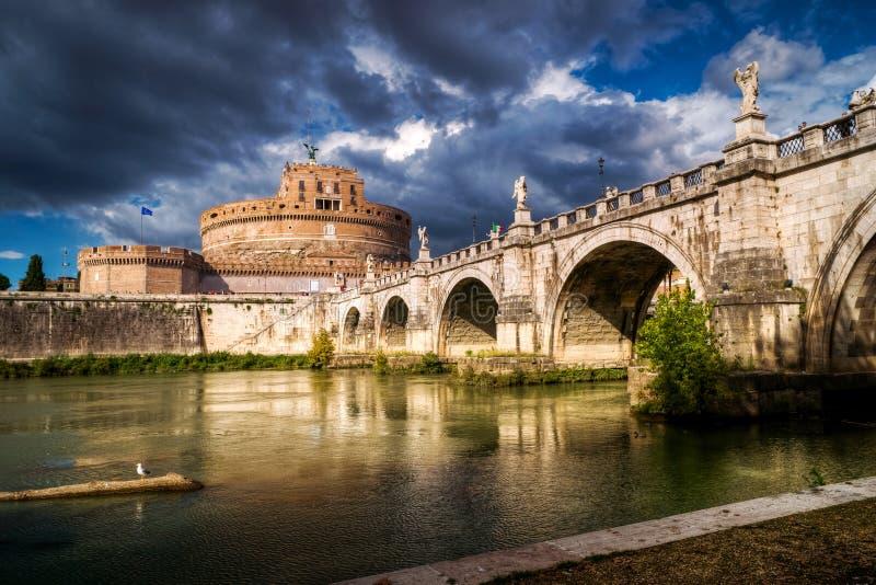Castel Sant'Angelo, Roma fotografía de archivo