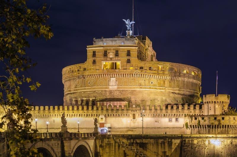 Castel Sant'angelo, Roma foto de archivo