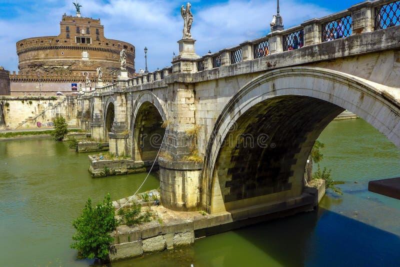Castel Sant Angelo, Roma immagine stock