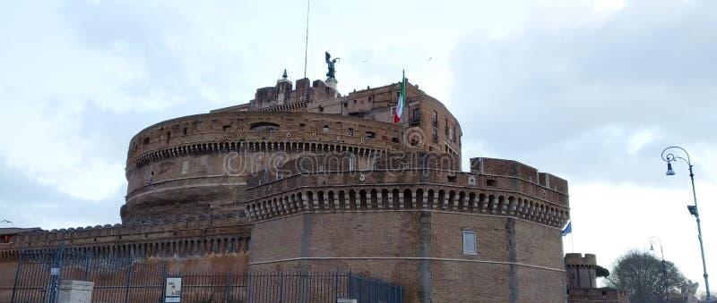Castel Sant'angelo, Roma, Italia fotos de archivo